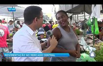 Movimentação no Mercado Central de Aracaju