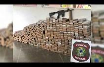 PF apreende mais de 300 kg de maconha em caminhão