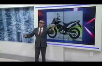 Moto é tomada de assalto no conjunto João Alves