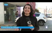 Sergipe registra 9 homicídios