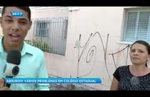 Pais de alunos reclamam de vários problemas na Escola Estadual Dr. Manoel Luiz