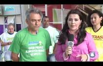 Servidores Públicos Estaduais realizam manifestação em frente a Emdagro