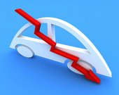 Vendas de veículos caem 8,44% em agosto, diz Fenabrave