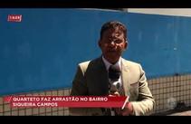 Quarteto é acusado de realizar arrastão no bairro Siqueira Campos