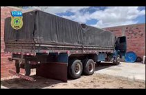 Caminhão roubado na Bahia é recuperado em Itabaiana
