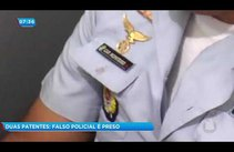 Falso policial é preso no centro de Aracaju