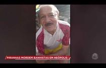 Banhista fica ferido ao ser atacado por piranha em Neópolis