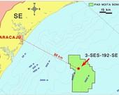 Petrobras confirma extensão de acumulação de gás e óleo na área de Moita Bonita, em águas profundas na Bacia de Sergipe