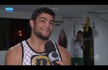 Atleta sergipano participa do Jungle Fight